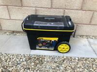 Stanley tool chest on wheels. Tool box.