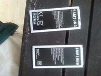 Two Samsung galaxy alpha batteries