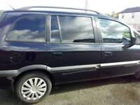 Vauxhall zafira 7seater