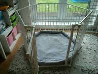 Large Playpen with Play Mat