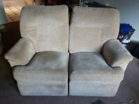 Double Reclining Sofa - Good Condition
