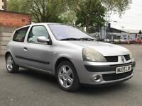 2005 RENAULT CLIO EXPRESSION 1.2 * £869 * IDEAL 1ST CAR * 3 DOOR * PETROL* MOT * P/X * DELIVERY