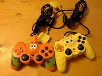 Spongebob and Rare Patrick Controllers