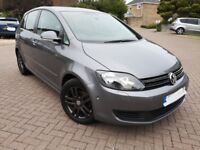 VW Golf Plus Bluemotion Tech 2013. 46k, FVWSH, new cambelt, 64mpg, £30 tax, excellent condition