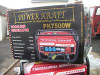 Power Kraft Generator 7500w Petrol
