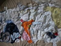 Baby clothes bundle size 0-3 months - approx 68 items!!