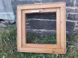 wooden velux window