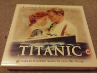 Titanic VHS collectors edition with film cell