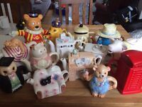 Novelty Teapots JOB LOT - perfect for shabby chic DIY wedding!