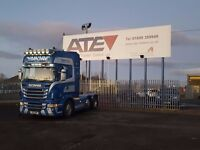2011- plate scania r 480 topline 6x2 midlift low klms manual gearbox finance availible