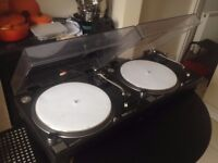 Two Technics SL 1210 mk2 excellent condition £800 or nearest offer