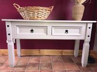 Mexican Pine Painted Sideboard