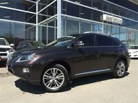 2013 Lexus RX 350 AWD TOURING PKG NAVIGATION 1 OWNER LIKE NEW