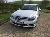 2013 Mercedes c220 CDI AMG SPORT with SAT-NAV auto