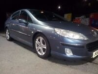 TURBODIESEL WITH TOWBAR+ELECTRICS! PEUGEOT 407 HDI RUNS OK ATTENTIONREQUIRED SPARES/REPAIR 450! VOW