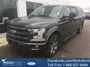 2015 Ford F-150 Lariat WITH CANOPY $332.52 b/weekly.