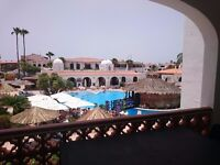 1 bed apartment in Fairways club, Amarilla golf resort, tenerife, very near golf coarse, sleeps 4