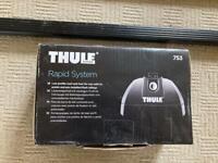 Thule square roof bar kit to fit Honda Civic tourer 2014>
