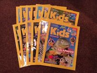 National Geographic Kids Mags – 13 issues