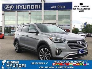 2017 Hyundai Santa Fe XL LUX|AWD|6 SEATER|LEAHTER|NAVI|BACK-UP C