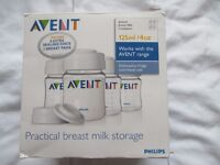 Avent Breast Milk Storage Containers/ Mini bottles