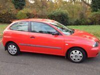 SEAT IBIZA 1.9 DIESEL (SAME ENGINE AS VW GOLF) MOT SEPTEMBER 2018 1 OWNER SINCE 2003 LOTS OF HISTORY