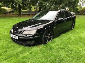 2004 04 PLATE SAAB 9-3 2.0 TURBO VECTOR RUNNING AT 240 BHP