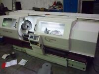 HARRISON ALPHA MODEL 550T SEMI CNC TEACH LATHE YEAR 2006