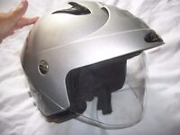 Motorcycle or Scooter Helmet Takachi with Dust Cover Size L