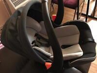 Mamas & papas 0+ car seat barely used!