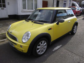 MINI 1.6 ONE 2004 (53) NEW MOT