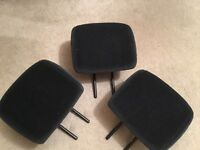 Peogeot 206 rear headrests, car headrest