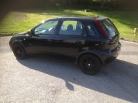VAUXHALL CORSA ACTIVE 1.2 active 16v £995 2003
