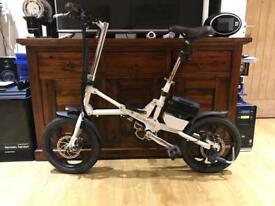 Kwikfold Xite folding electric bike