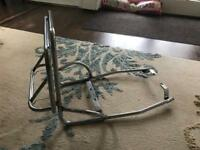 Vespa PX pillion seat hold and luggage rack