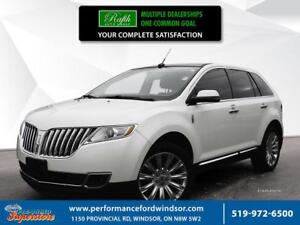 2013 Lincoln MKX ***sunroof, AWD, 20's,  wood package***