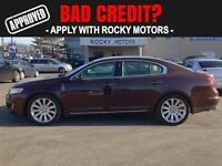 2010 Lincoln MKS $80.52 A WEEK + TAX OAC - BAD CREDIT APPROVALS