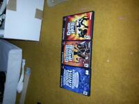three games for ps2
