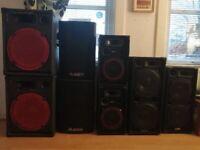 large range of disco equipment for sale