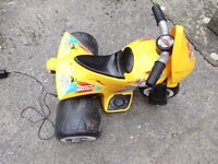 Kids electric bike with charger for sale