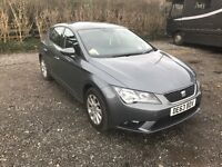 2013 Seat Leon 1.6 TDI DIESEL EXCELLENT CONDITION Free road tax!
