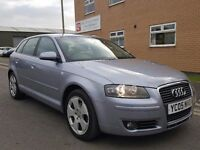 2005 AUDI A3 2.0 TDI SPORT SPORTBACK FULL SERVICE HISTORY 5DR A4 VW GOLF PASSAT GT FORD FOCUS ASTRA
