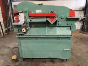 (USED) IRON WORKER PIRANHA 50 TONS / 575V