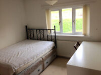 furnished double room in lovely house with couple and dog :-)
