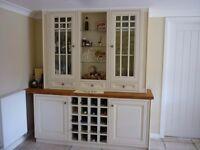 Kitchen Dresser Units and worktops Excellent condition