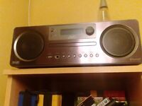 JVC all in one BLUETOOTH PLAYER/DAB/FM/CD/USB PLAYER. as new