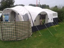 Sunncamp Holiday 550 trailer tent 4 berth