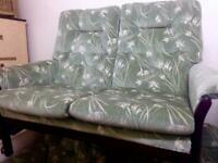 Vintage Sofa and armchair Parker knoll style