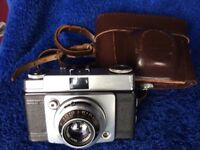 Ilford Sportsman 35mm Camera & leather case.