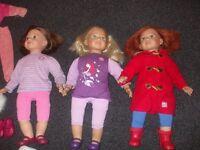 Molly/Sally Dolls